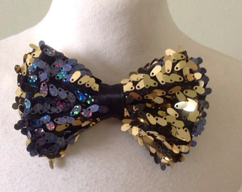 Boys Bow Tie, Sequin Bow Tie, Girls bow tie, Holiday bow tie, Great Gatsby Bow Tie - Fashion Bow Tie