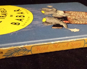 The Travels of Babar/The Tale of Peter Rabbit - Read Me a Story Program, Vintage 1950/1960