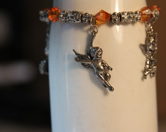 Charm Bracelet -Angels