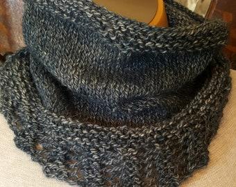 Alpaca Hand Knit Cowl