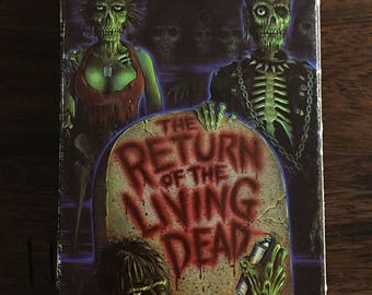 Return Of The Living Dead HBO Cannon VHS Horror Cult Classic