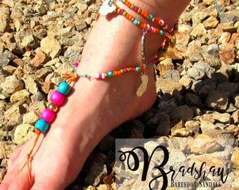 Cali Pug Barefoot Sandal
