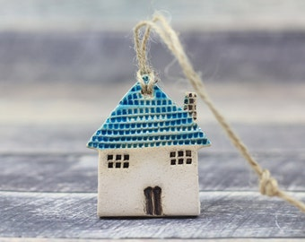 Handmade Wall ornament House ornament Holidays decor Wall hanging Holiday ornaments