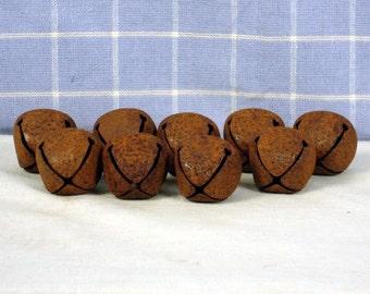 """1 Dozen 30MM Rusty Bells (1"""")"""