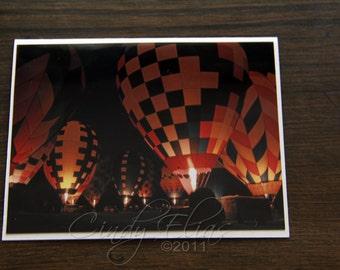 Hot Air Balloons-Balloon-Blank note card- greeting card-rides-festival-Frankenmueth, MI-photography-print-photo
