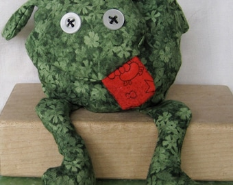 Frog - Hot/cold Therapy Packs - scented bean bag  -  lavender