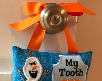 Olaf Frozen Tooth Fairy Pillow