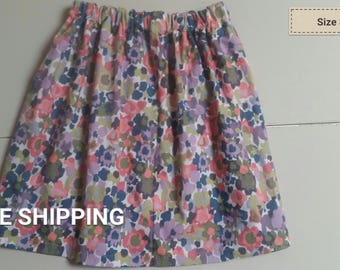 abstract floral size 8