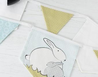 Bunny Bunting For A Bunny Themed Nursery