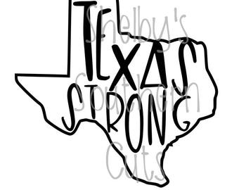 Texas Strong - SVG file