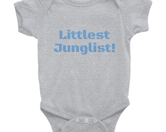 Littlest Junglist (range of colours) Infant Bodysuit