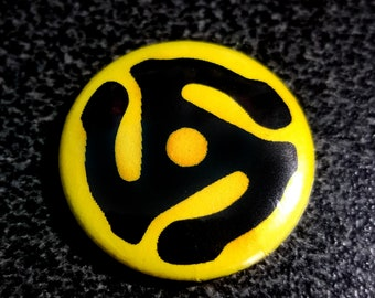 45 Adapter Yellow 1 Inch Button