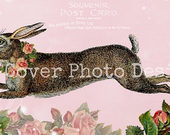 "TiffanyJane-""RabbitsNRoses"" EtsyCoverPhoto-LargeHeaderBanner-InstantDownload-Spring-EverydayBanner"