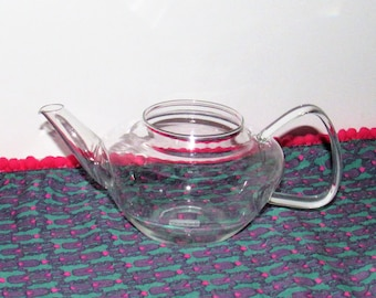 Bodum Glass Tea or Coffee Pot for Replacement or Repurposing, no lid