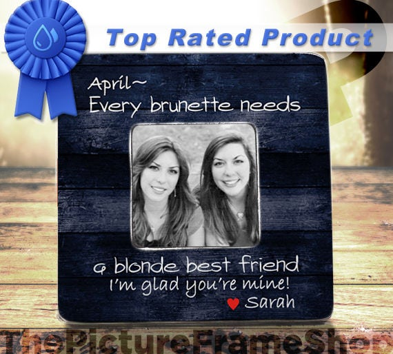 Every Brunette Needs A Blonde Best Friend Friends Gift Bff Gift