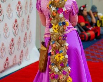Realistic Rapunzel Cosplay Wig