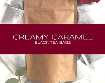 Creamy Caramel Black Tea Bags