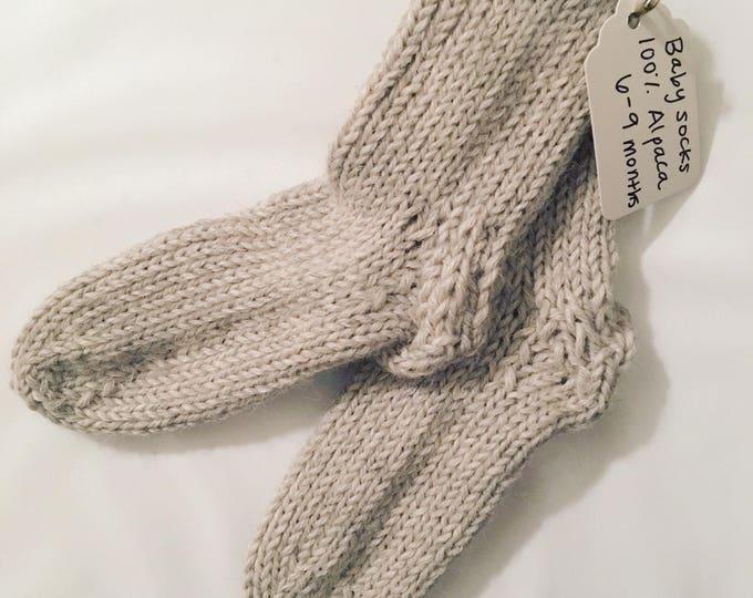 Baby Hand-knit Socks