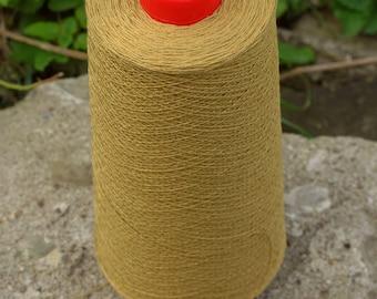 8 oz cone Beige 10/2 Mercerized Cotton