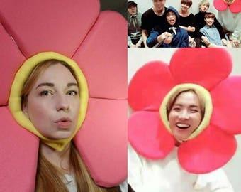 BTS Flower Hat for J-Hope or Jin Cosplay