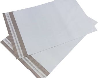 "100 Poly Mailers 14.5"" x 19"" Self Sealing Shipping Envelope"