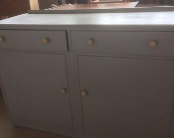 Hand painted sideboard/dresser 89