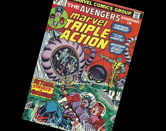 Marvel Triple Action #21 Featuring The Avengers 1974
