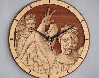 Doctor who Clock / Weeping Angels Clock
