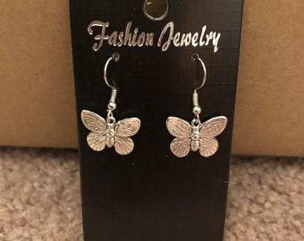Butterfly Insect Earrings