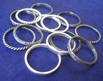 Mix and Match Stackable Rings