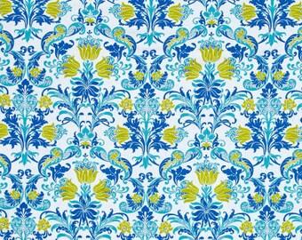50102 -   Jennifer Paganelli -Sunny Isle Dawn in Blue color - 1/2 yard