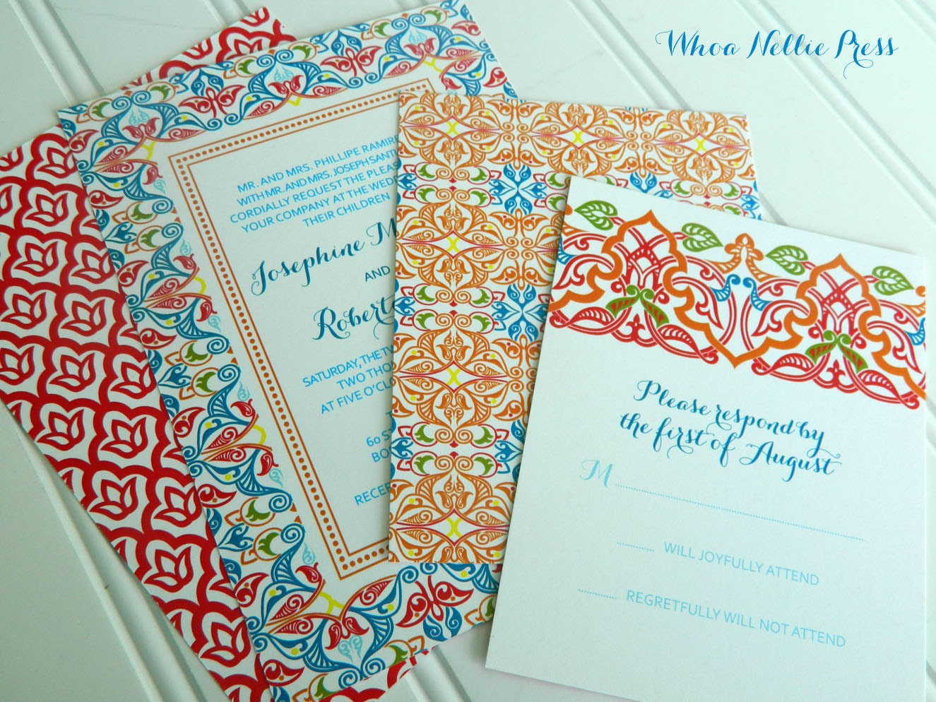 Spanish Wedding Invitations Mexican Wedding Spanish Tiles
