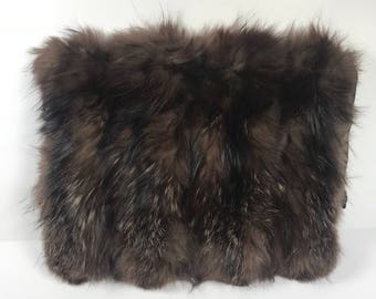Gorgeous vintage fur muff
