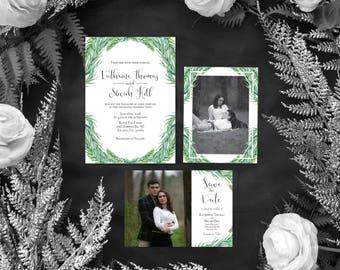 Spring/ Summer Wedding Invitation *Printable Template*