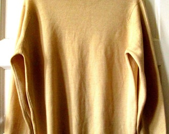 Men's Byford Superwash Wool Turtleneck Sweater S - M