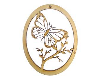Butterfly Ornament - Butterfly Ornaments - Butterfly Gift - Unique Butterfly Gifts - Butterfly Christmas Decor - Personalized Free