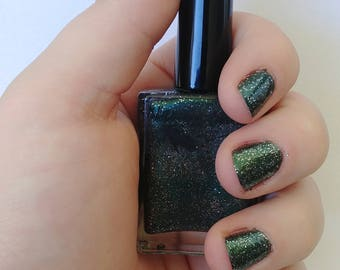 Slytherin 10-free Vegan Nail Polish