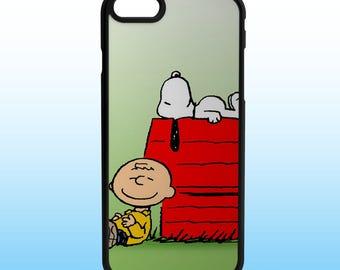 Peanuts Snoopy Charlie Brown Custom Iphone Case, Iphone 5, 6, 7, 8, X
