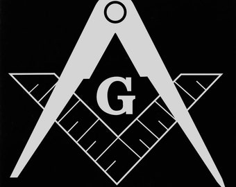 Molon Labe 16oz Laser Engraved Pint Glass - Masonic