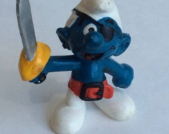 Vintage Pirate Smurf