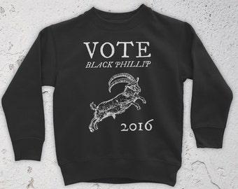 Vote Black Phillip 2016 Sweatshirt