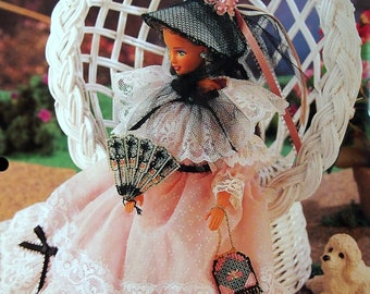 Antebellum Accessories By Laura Doyle And Annie's Fashion Doll Plastic Canvas Club Vintage Plastic Canvas Pattern Page 1995
