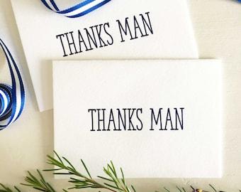 Groomsmen Thank You Cards, Groomsman Gifts, Thank You For Being My Groomsman Card, Best Man Gift, Best Man Thank You Cards, Thanks Man Card