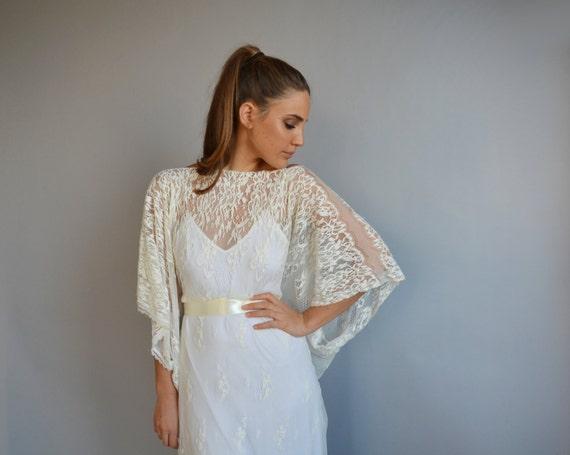 Brautkleid Ärmel Kimono Hochzeit Hochzeit Spitzenkleid