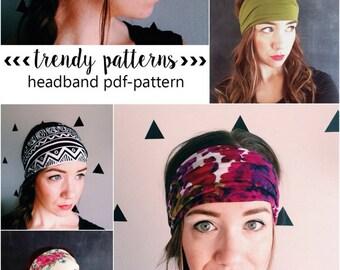 Headband PDF pattern - head wrap