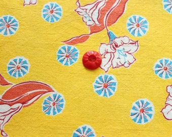 Fat Quarter size Vintage Feedsack -283