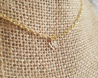 Little bit of love necklace in gold