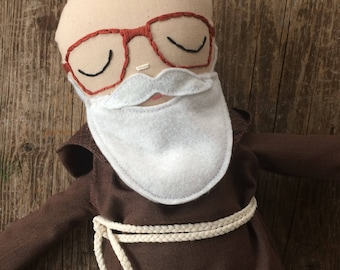 Blessed Father Solanus Casey Doll / Solanus Casey / Saint Dolls / Catholic dolls / Franciscan