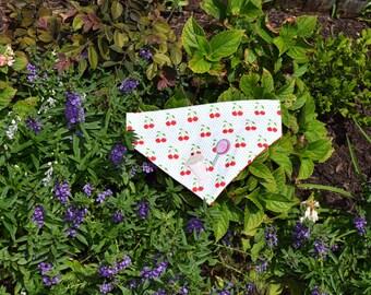 Cherry Bomb- dog bandana
