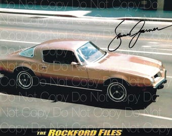 Rockford Files signed James Garner 8X10 photo picture poster autograph RP
